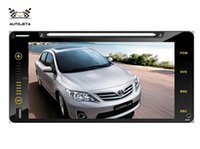 """Wholesale Car Dvd Player Toyota Hilux - 4 UI intereface combined in ONE system 200*100cm CAR DVD PLAYER FOR TOYOTA Camry Vios HILUX Prado Corolla RAV4 BLUETOOTH GPS full touch 7"""""""