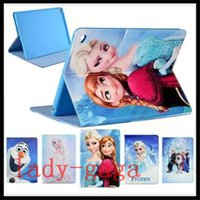 air bag movie - Cartoon Movie Elsa Anna Princess Flip Folio Leather Case For iPad Pro ipad Air mini iphone Plus