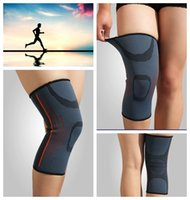 Wholesale Breathable Support Knee Protect Knee Pads Training Elastic Warmth Sports Safety Kneepad Protect Breathable Elastic Kneepad Sports KKA558