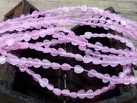 Wholesale A grade cats eye glass loose beads x6mm heart shape mm hole for jewelry project semi precious crystal beads