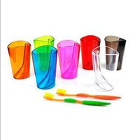 bathroom combo - Couples Multifunction Scaling Wash Cup Bathroom Combo Cups with Toothbrsh Holder Multicolor Cups XHH05321