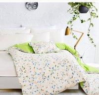 Wholesale flower cotton duvet cover king size