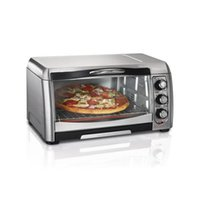 Wholesale Toaster Oven Hamilton Beach Convection Stainless Steel Slice pizza Bake Dorm
