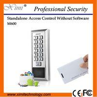 Wholesale Metal face IP68 waterproof VDC single door access control system user M600 rfid card proximity door access control