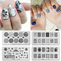 Wholesale Nail Art Printing Plate Image Stamping Plates DIY Manicure Template Tools
