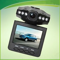 Wholesale 2 Car Dash cams Car DVR recorder camera system black box H198 night version Video Recorder dash Camera IR LED