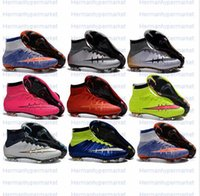 Wholesale 2016 Womens Big Kids Superfly FG Soccer Boots CR7 Sock Boots Soccer Shoes Football Shoes