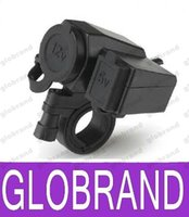 Wholesale New Motorcycle V USB Cigarette Lighter Power Port Integration Outlet Socket v usb power charge socket D GLO469