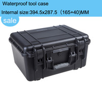 aluminum can lining - high quality Tool case toolbox waterproof equipment case Impact camera case suitcase can choose pre cut foam lining