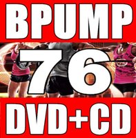 Wholesale In Stock New Routine BP Body Aerobics Barbell Weight lifting BP76 Video DVD Music CD Without BOX