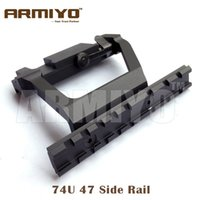 Wholesale Armiyo Heavy Duty Tactical Army Force U AK Side Rail Lock Scope Quick Detach Hunting Mount Base mm Rail