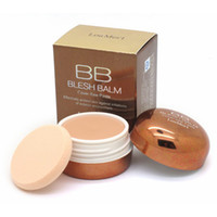 Wholesale loumesi bb loumesi face makeup Make Up Camouflage Blesh Cover flaw Face Cream with Beauty Cosmetics Puff Genuine Makeup Concealer