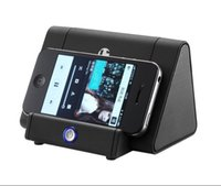 automatic floor - The new Idiom automatic wireless stereo speaker mini mobile phone holder induction subwoofer