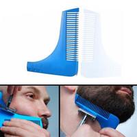 Wholesale Beard Bro Hair Trimmers Hair Care Styling Man Gentleman Beard Trim Template Hair Cut Molding Trim Template Beard Modelling Tools