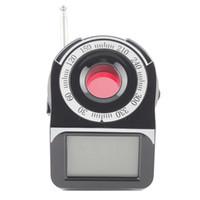 achat en gros de wifi espion bug-New CC309 Anti-Bug caché GPS GSM WIFI G3 G4 SMS sans fil détecteur RF Spy Bug Detector Laser Spy Camera Lens Finder