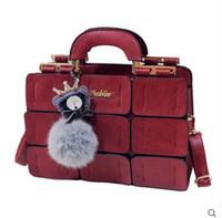 basket ball bag - New luxury women designer handbags high quality brand European American fashion stitching toy ball Tote easter basket bag