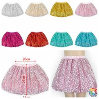 Wholesale girls sequins tutu dress Skirts Pettiskirt Dancewear Fancy Skirts Costume Fashion kids Lantern skirt design KKA565