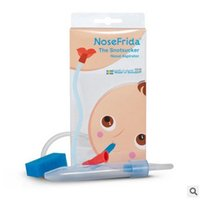 baby nose aspirator - 2016 New NoseFrida Baby Nasal Aspirator Newborn products Babies Boys Girls Cleaning Nose Cleaser Accessory Infant CX242
