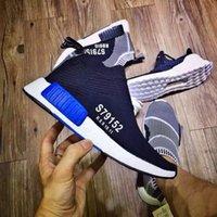 venda por atacado men shoes footwear-Cidade Sock Homens NMD S79150 E Mulheres Sapatos, NMD CS1 Cidade Sock PK, Esportes Casual sapatos Calçado Sapatos