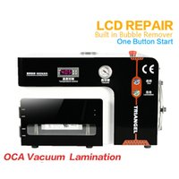 Cheap lcd screen repair kit 5in1 automatic OCA laminator Vacuum OCA lamination machine within defoaming autoclave air bubble machine for iphone