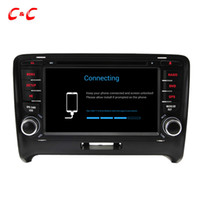 Cheap Quad Core HD 1024*600 Android 5.1.1 Car DVD Play for Audi TT 2006-2014 with GPS Navigation Radio Wifi Mirror link DVR
