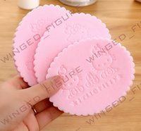 baby washing powder - B1 cartoon pearl delicate sponge cleansing wash flutter flutter Ms special baby powder puff
