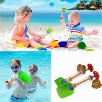 Wholesale 40pcs Children Multi function Water Guns Shovel Grab in1 Beach Water Guns Cool Beach Toys for Kids By EMS