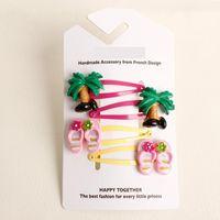 animal ice cream - new creative design high quality girls hair clips cute animal tree ice cream children hair accessories