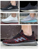 Wholesale Discount Hot New Arrivals Originals ULTRA BOOST FUTURE CRAFT D Print Running Shoes For Men Sports Shoes Sneakers Mens designer shoes