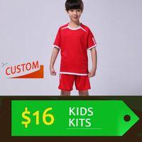 Cheap Kids Kits (Shirt & Shorts) Wholesale & Reseller Soccer jersey custom team football shirt the Best quality (Resller contact me))