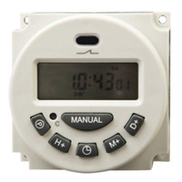 Wholesale L701 Digital LCD Power Programmable Timer Switch Controller A V For LED Strip Lights
