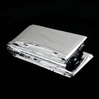 best travel blanket - Best Waterproof Emergency Rescue Space Foil Thermal Blanket Sliver NEW Fashion outdoor sport life