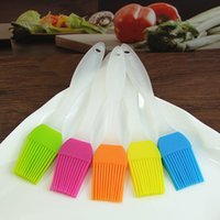 Wholesale 200 Piece High Quality Food Grade Silicone Brush Kitchen Baking High Temperature Resistance Oil BBQ Brush DHL