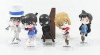 age of conan - Anime Detective Conan Edogawa Konan Figure a set of