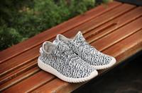 Zapatos de los hombres La venta al por mayor de la fábrica de Kanye Coconut calza el gris negro Y3 Mujeres Zapatos de los hombres Zapatillas de deporte Zapatos ocasionales Calzado caliente superventas Negro