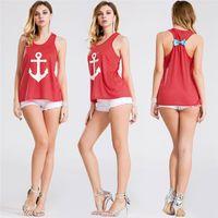 anchor tshirts - Anchor Tank Tops Watermelon Top Women Crop Tops Tshirts Women Clothing Lace Tops Womens Plus Size Clothing Crop Top Tanks