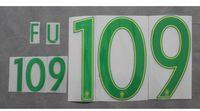 Wholesale 2016 Brazil Home Away Custom soccer Nameset Customize Name A Z Number Print Player nameset