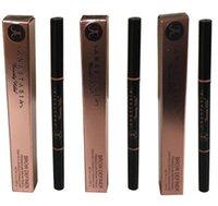 Wholesale Easy to Wear ABH Brow Definer Makeup Skinny Brow Pencil Crayon A Sourcils Fin MEDIUM BROWN Soft Brown DARK BROWN Free Ship
