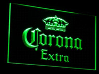 Wholesale a013 Corona Extra Beer Bar Pub cafe LED Neon Light Sign Cheap light open sign