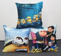 adult baby chair - Despicable Me Minions Gru Cushion Cover Pillow Case Home Sofa Chair Seat Decorative Baby Kids Favor Soft Cushions Pillows Covers