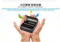 Wholesale Free SDK Pocket Size High Speed Printing Bluetooth RS232 USB Thermal Printer for Android and IOS Smartphone DD