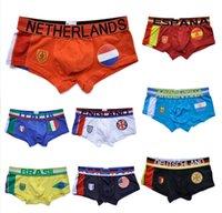 Wholesale Brand Man Boxer Underwear Men s Flag Underwear Fashion Mens Underwear Boxers Calzoncillos Mens Boxer Shorts