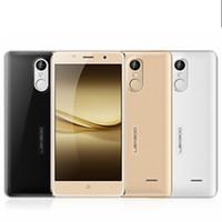 metal - LEAGOO M5 Android6 G Cell Phone Inch HD Screen MTK6580 Quad Core Metal Frame Fingerprint ID