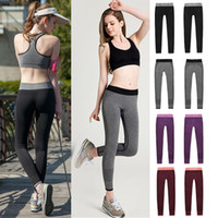 Wholesale 2016 New Women Leggings Elastic Comfortable Super Stretch Sport Legging Workout Pants Fitness Trousers Leggings