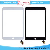 Wholesale New Screens For iPad Touch Screen Digitizer without Adhesive without Home Butoon AAA Grade No Scratch DHL