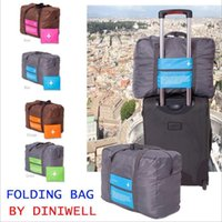 Wholesale 2015 New Style Fashion Sports Travel Bag Large Capacity Bag Women Canvas Folding Bag Women Luggage Travel Handbags