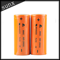 Wholesale MNKE Battery IMR MH46698 LIMN Rechargeable Battery mah High Drain Battery For Mechanical Hades Mod Mod