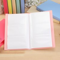 Wholesale Large Capacity Card Stock Slots Business Name Card Organizer High Quality School Office Supplies Book Holder Women Card Case