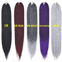 outre - 10pcs Freetress Outre D Cubic Twist Braiding Hair Extension inches Crochet Braid Senegalese Synthetic Mambo Kanekalon Twist Hair g
