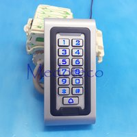 Wholesale IP68 Waterproof Khz EM Card Access Control with Keypad Metal Proximity Card Access Control for Outdoor Wiegand Reader
